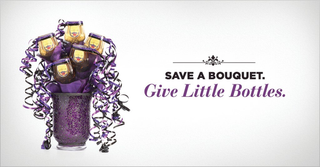 Save a bouquet. Give Little Bottles.