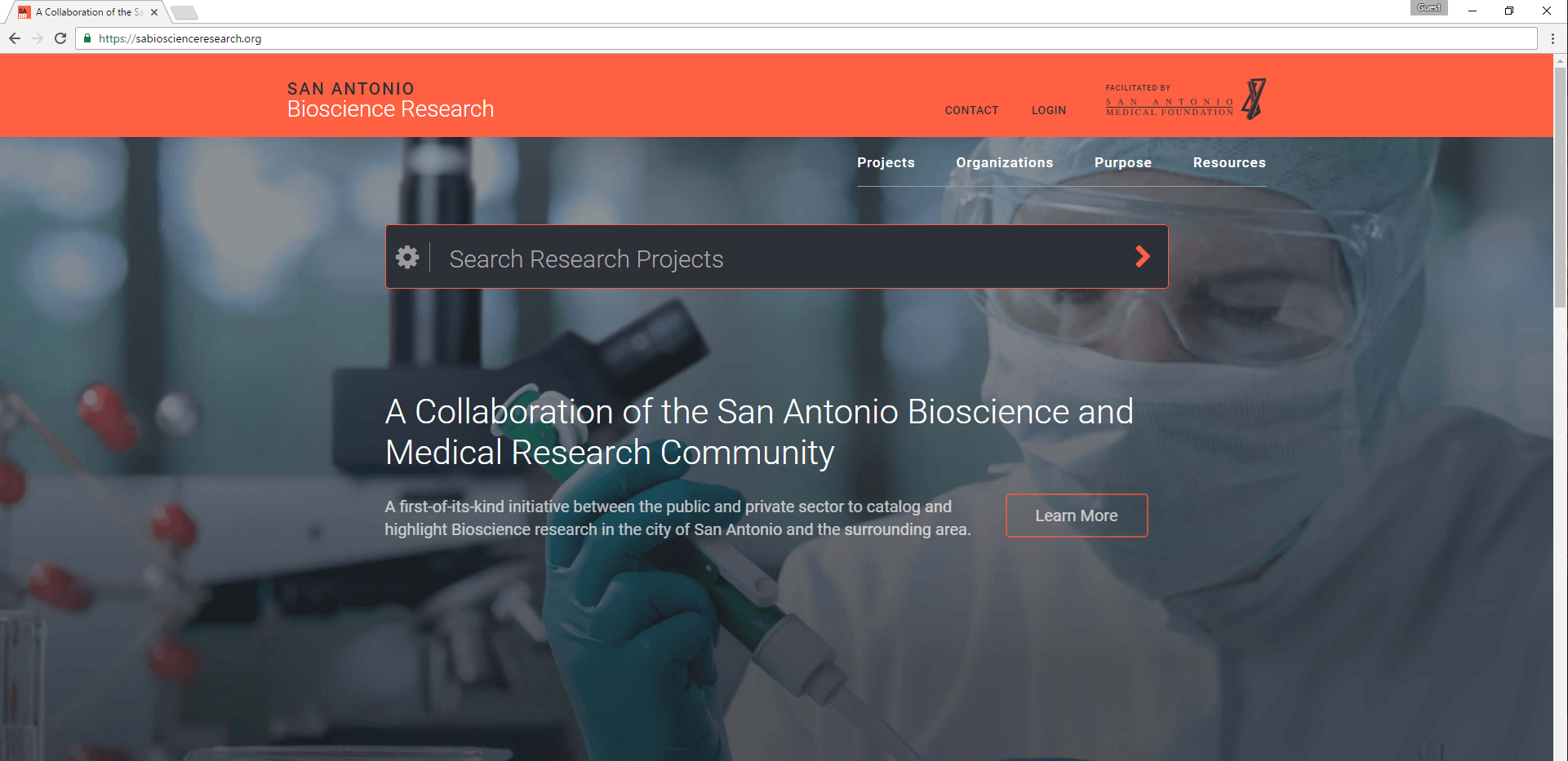 San Antonio Bioscience Research Database Website Launched; A Unique Collaboration and Economic Development Tool