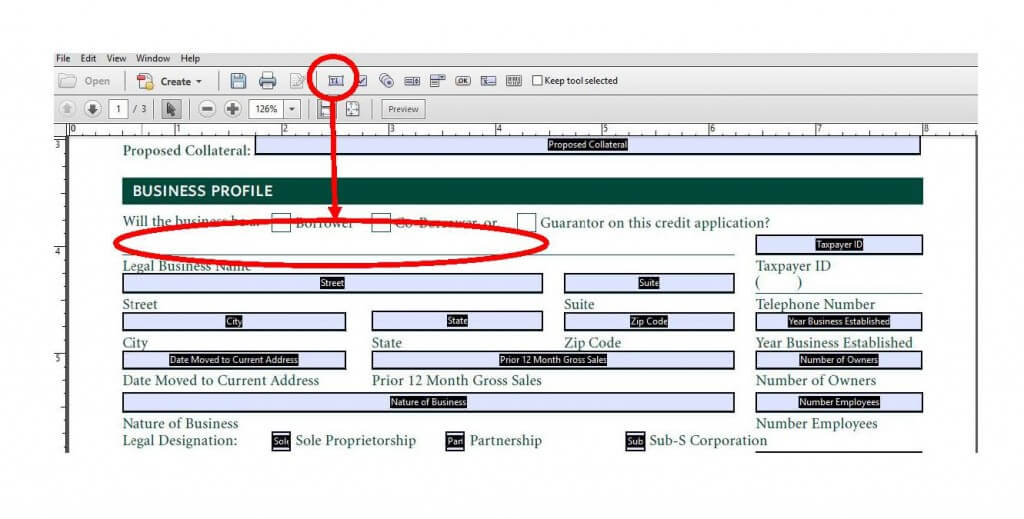 6 Steps to Making Fillable Forms with Adobe Acrobat| Texas