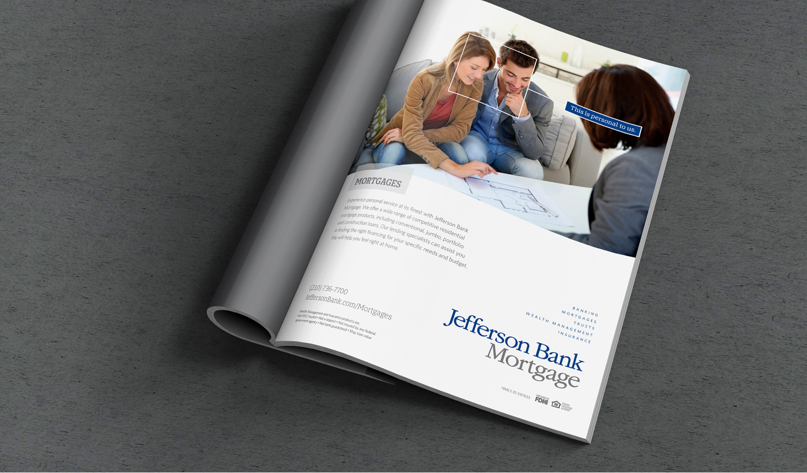 Jefferson Bank - The Shoot Team - Panel