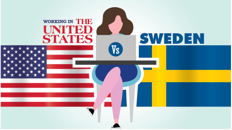 Working in the U.S. vs. Sweden