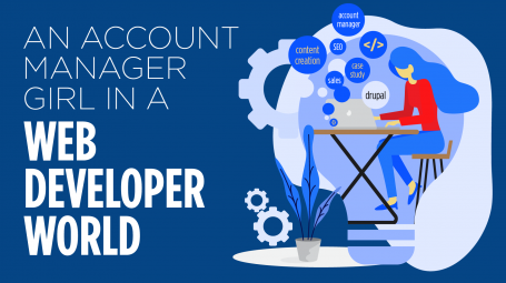 An Account Manager Girl in a Web Developer World