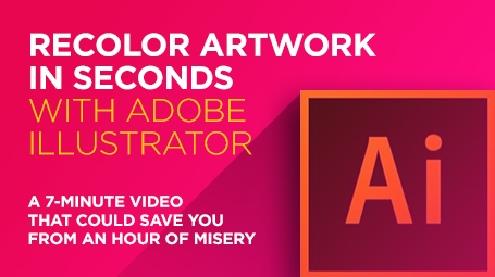 Recolor Artwork in Seconds With Adobe Illustrator