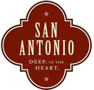 San Antonio deep in the heart logo