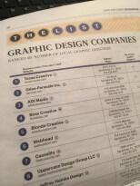 San Antonio Business Journal The List Top Graphic Design Company